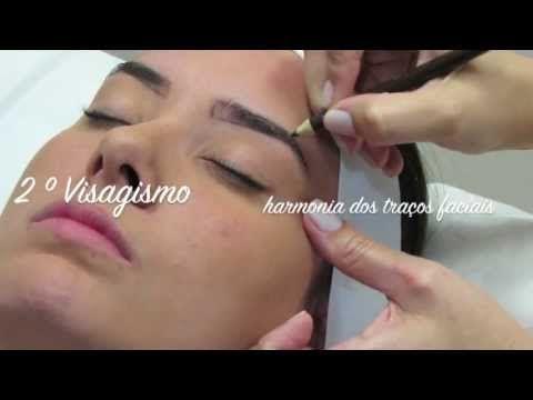 Design de Sobrancelhas -Step by Step Design eyebrows) (Legendas: Português e Inglês)