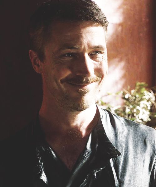 His smile gives me life... #aidangillen #littlefinger