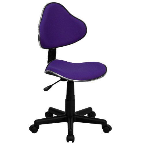 Indus is an armless office chair designed for those who can appreciate a little bit of fun while they work. This funky dark purple office chair is sized perfectly for kids, students or petite adults. The low back design and smaller seat are a welcome fit for those with shorter stature, the... more details available at https://furniture.bestselleroutlets.com/children-furniture/chairs-seats/desk-chairs/product-review-for-dark-purple-office-chair-indus-petite-armless-office-chai
