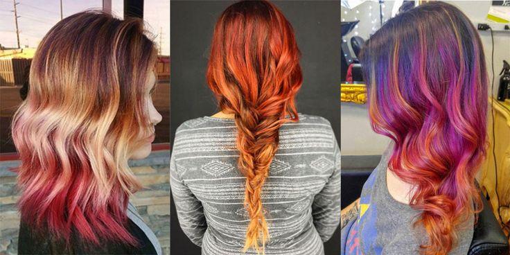 Ci sono i capelli con tutti i colori dell'arcobaleno, quelli che ricordano una galassia e, infine, anche quelli che assumono le sfumature di un tramonto meraviglioso. Su Instagram esiste l'hashtag #sunsethair per ciocche dall'arancione al rosso. Che ne pensi?