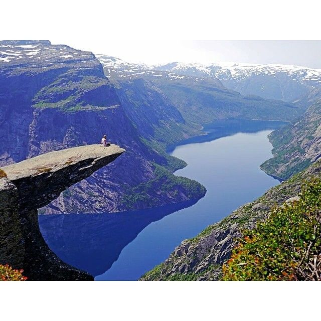 """From """"Trolltunga takes the Internet by storm"""" story by The Weather Network on Storify — http://storify.com/weathernetwork/trolltunga-takes-the-internet-by-storm"""
