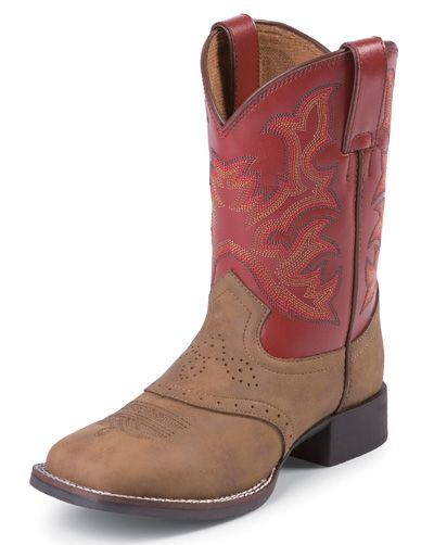 Justin Children's Western Boots  http://www.onlinebootstore.com/great-boots/items/J7004C.html