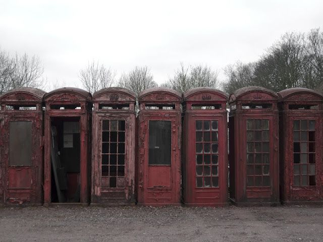This telephone boxes graveyard is located in the small village of Carlton Miniott, in the north of England. As years go by, decommissioned red phone boxes are replaced and deposited in this site where hundreds of them are already left to decay.