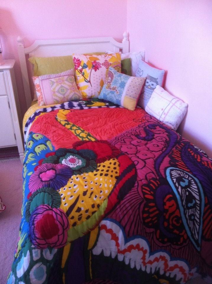 Elise's Bed...land Of Nod Bed...anthropologie Quilt