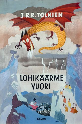 Tove Jansson's illustrations for the finnish edition of The Hobbit. In an exhibition of her work at the Centre Belge de la Bande Dessinée.