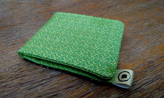 Women's Fabric Wallet Billfold wallet Made to order