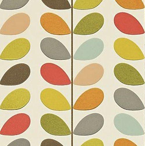 Choose your Wallpaper or Lampshade Design  Multi Leaf Original