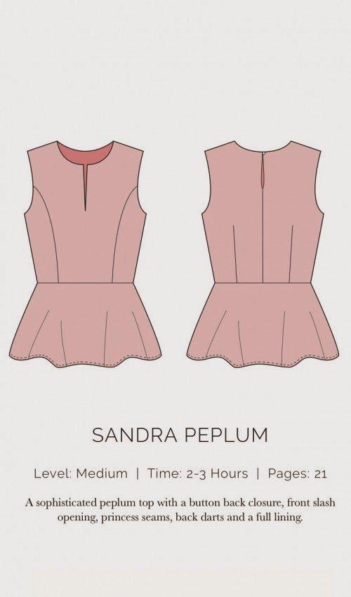 yo elijo coser: Patrón gratis: top con peplum (para copiar a Alexander McQueen)