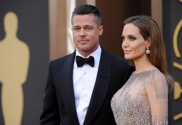 Брэд Питт и Анджелина Джоли на церемонии «Оскар 2016»