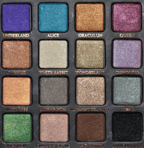 alice in wonderland ud palette.....the Holy  Grail for palette lovers like me!