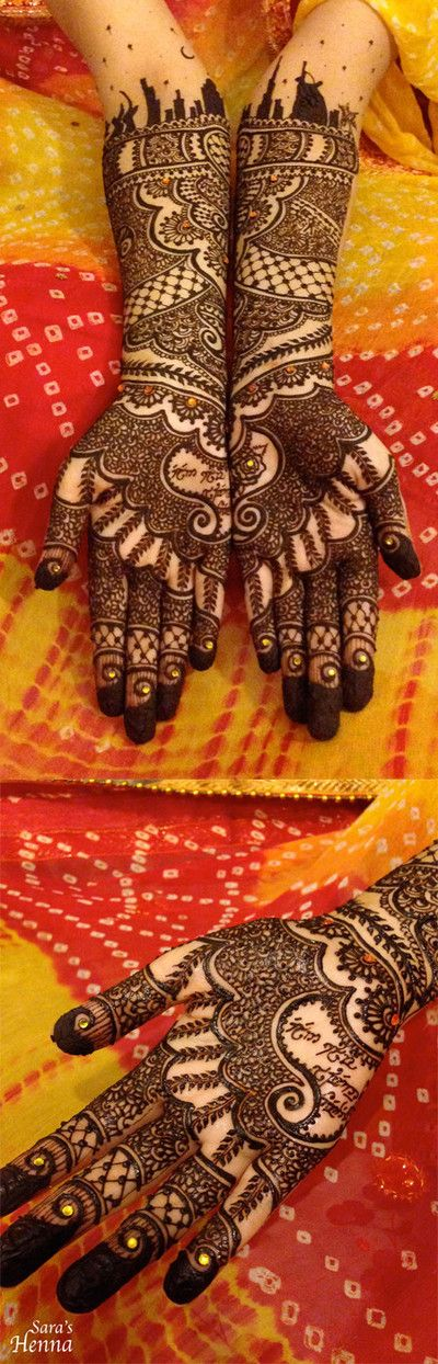 Mehndi Maharani Finalist: Sara's Henna http://maharaniweddings.com/gallery/photo/27035