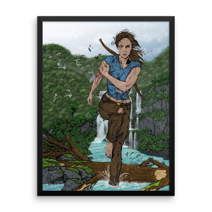 Croft Framed poster