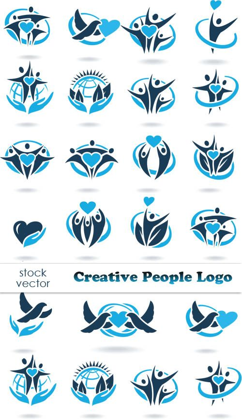 Vectors - Creative People Logo