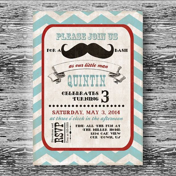 207 best baby shower mustache images on pinterest baby shower vintage mustache bash invitation for boys birthday party or baby shower diy little man printable invite filmwisefo Image collections