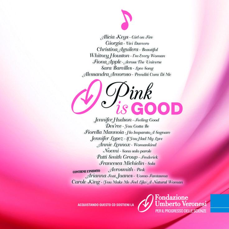 La cover della compilation dedicata a #pinkisgood, realizzata da @Sony Music e disponibile anche su @Amazon.com