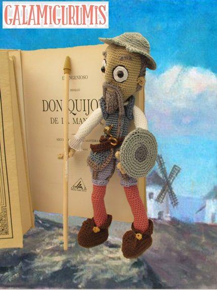 Don Quijote Amigurumi, Patrón
