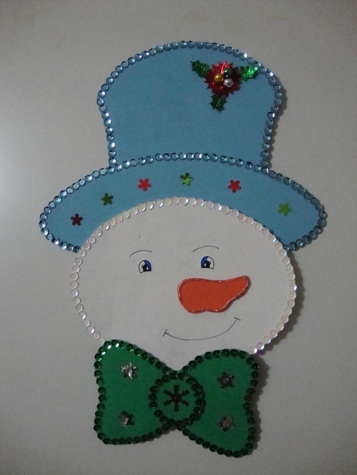 27 muñeco  sombrero azul
