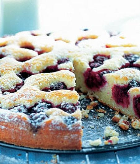 Tvarohovy kolac s ovocem
