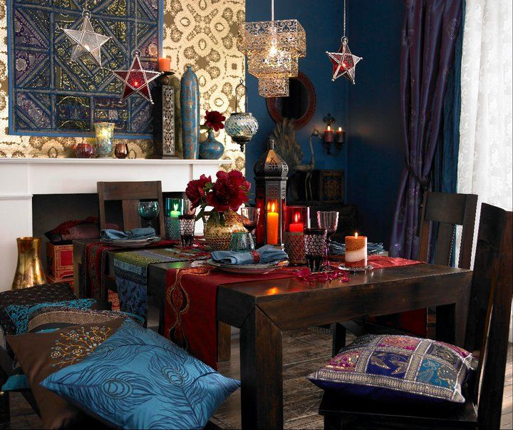 17 best ideas about hippie style rooms on pinterest for Funky dining room ideas