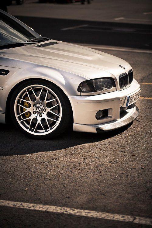 E46 M3 | BMW M series | Bimmer | White | chrome | BMW USA | Dream Car | car photography | Schomp BMW