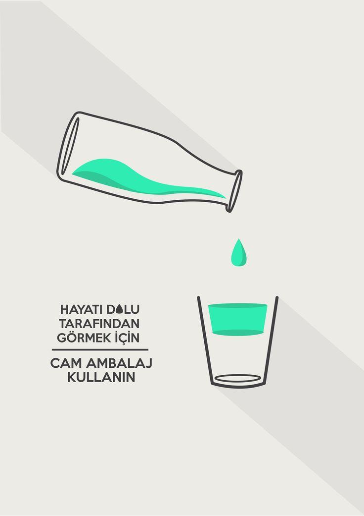 Glass Bottling - Poster Design