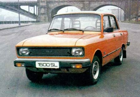 Moskvitch 2140 Lux, I remember riding in this in the 80s
