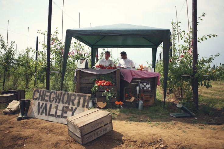 On set at Chegworth Valley #baxterstorey #film #fresh #foodporn #yum #fresh #local #homemade