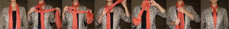 Creatieve manieren om een sjaal te knopen | Lily's Beauty & Lifestyle