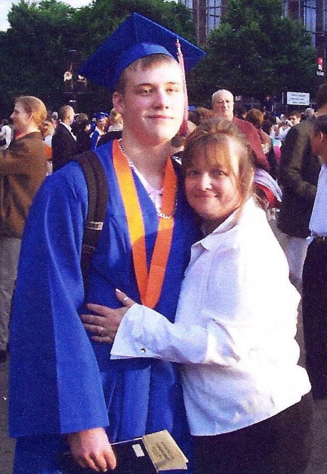 First to graduate HS. 2004. Proud I am
