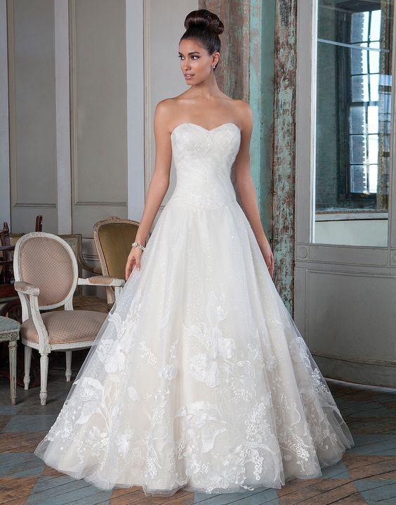 Justin Alexander Wedding Dress Inspiration