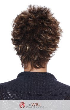 The short and spiky cut of the Petite Demi by Estetica Designs is all at once sassy and cute with a contemporary style for today's modern girl on the go. The wispy layers add incredible volume to a wi