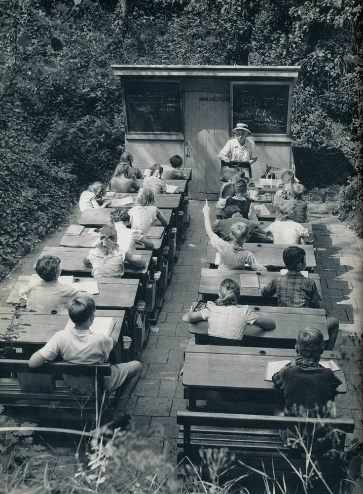 A Forgotten Age of Open-air Schools in the Netherlands, 1957. [1504 × 2048].