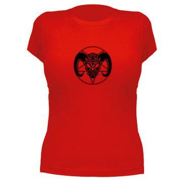 Demonio Tribal, camiseta manga corta mujer