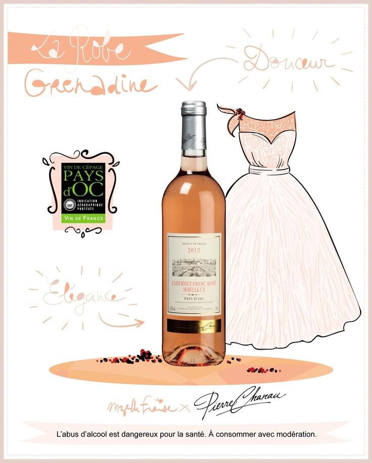Cabernet Franc Rosé Moelleux Pierre Chanau Pays d'Oc IGP #vin #wine #summertime #cabernetfranc