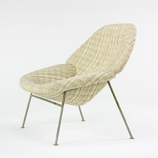 Pierre paulin 555 lounge chair for artifort c1950 for Artifort chaise lounge