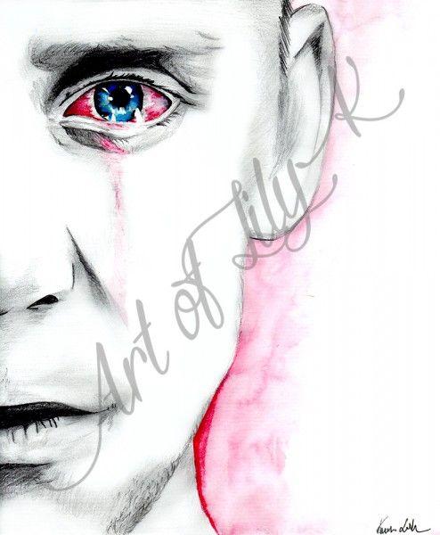 Tom Hiddleston Traditional Artwork