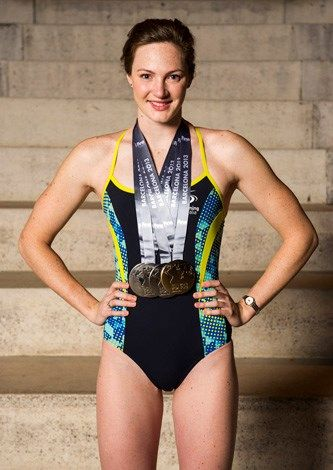 Swimmer Cate Campbell is a chance at a medal having won two bronze medals at the 2008 Summer Olympics in Beijing.
