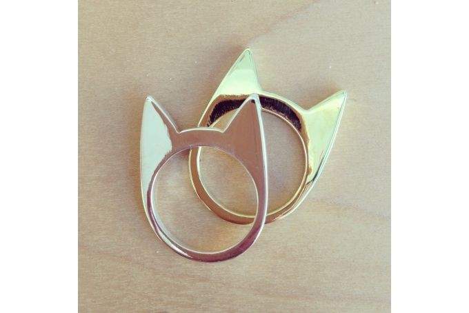 cat ring by Milame Design