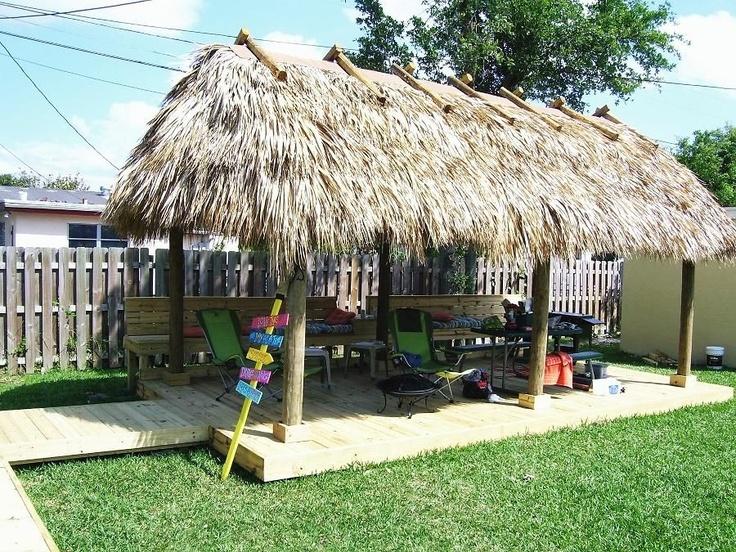 Custom Built Tiki Huts, Tiki Bars, Tiki Furniture, And Tiki Accessories.  Building Tiki Huts And Tiki Bars Throughout Florida.