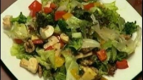 Exotic Salad In Balsamic Dressing - Sanjeev Kapoor - Khana Khazana