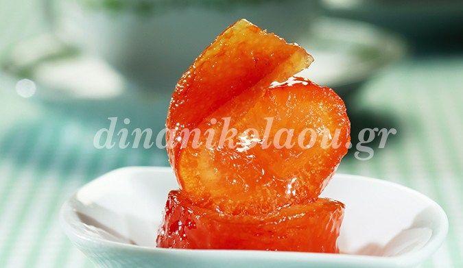 Πορτοκάλι φλούδα, γλυκό του κουταλιού