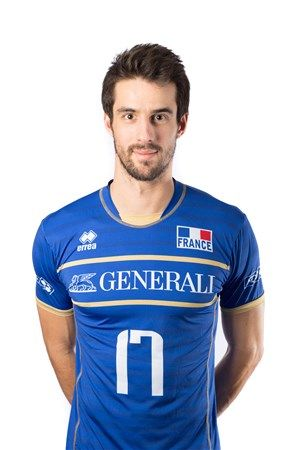 Franck Lafitte, Volleyball (Francia)