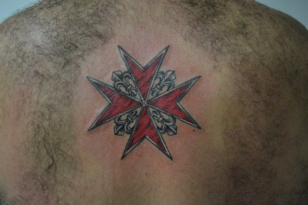 Best maltese cross tattoos
