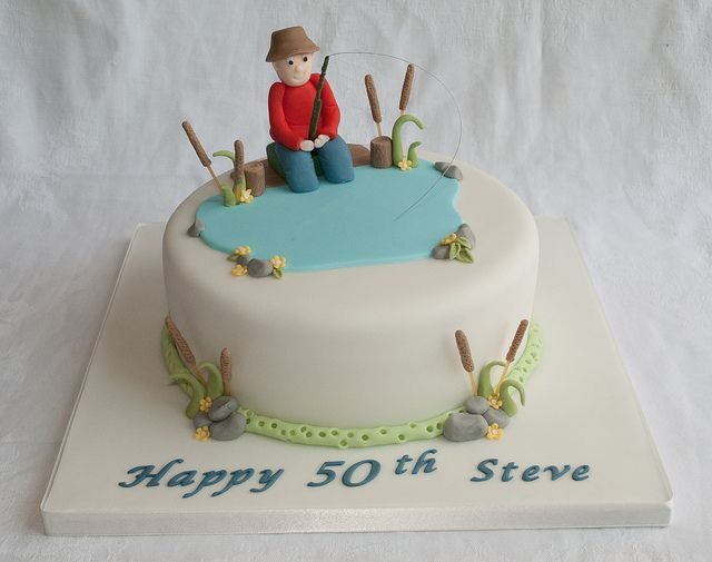 18 best Boat and Fish Cakes images on Pinterest Birthdays