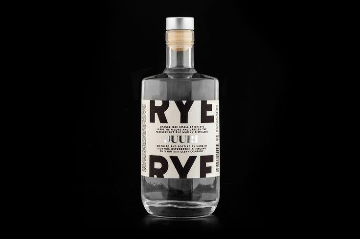 Branding for Kyrö Distillery Company by Werklig