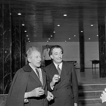 Salvador Dali and Jean Cocteau