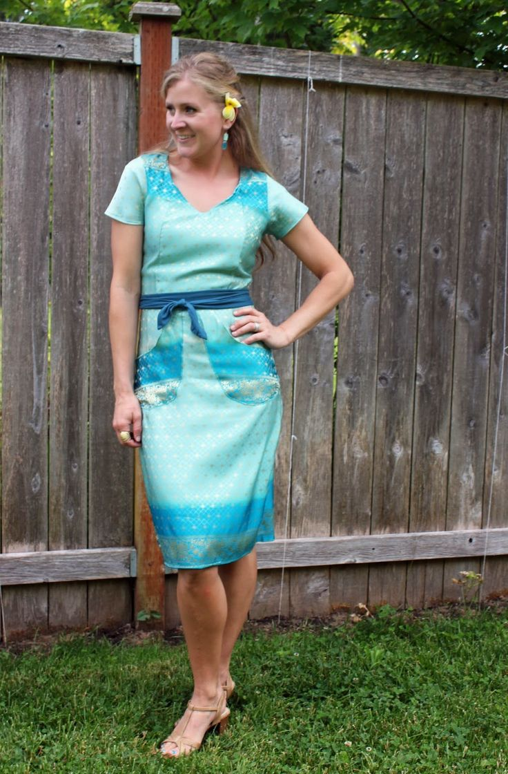 Summer Sheath, turquoise!
