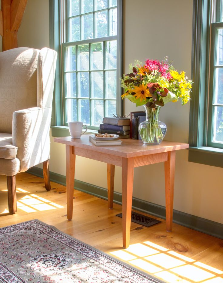 Our Handcrafted, Solid Wood Classic Shaker End Table Will Add Luxury And  Functionality To Your Shaker Style Living Room, Den, Library Or Bedroom. Part 60