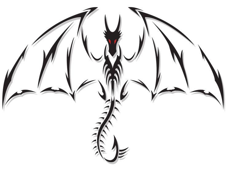 dragon tattoo rainbow | Dragon Tattoo Design - see more designs on http://thebodyisacanvas.com