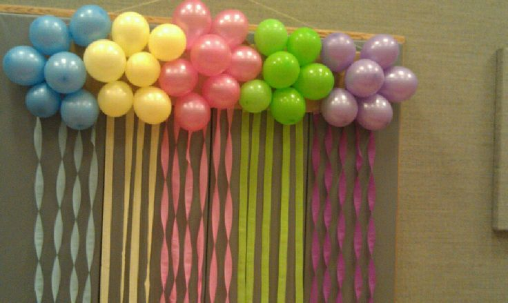 Step by step instructions on how to do a balloon cluster for Balloon decoration instructions